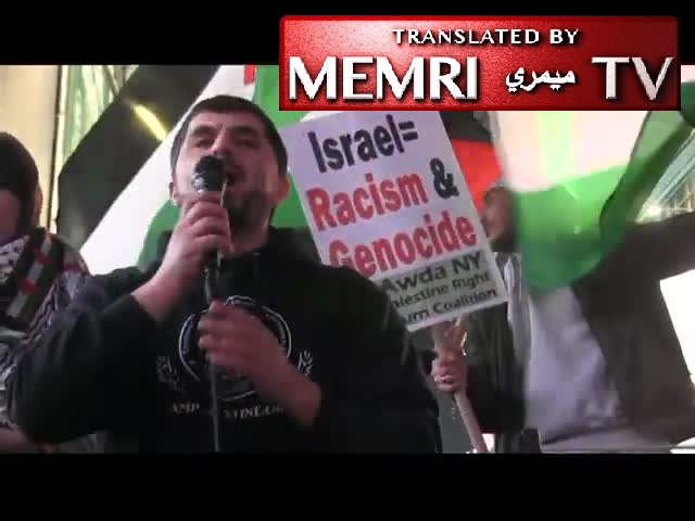 Gaza Solidarity Rally in Times Square: We Will Start an Intifada in Every Classroom, Every College Campus; We Will Shut Down Every Zionist Event; Israel Has No Right to Exist; Palestinian Resistance Is Not Terrorism